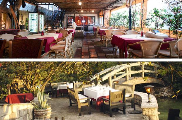 Gore: Restoran Ellas. Dole: Restoran Stari Mlini