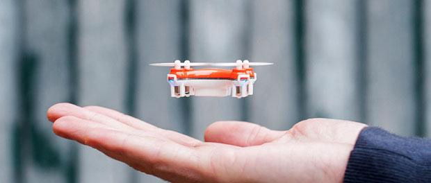 Nano dron sa kamerom, igračka ili…