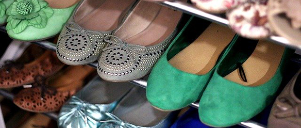 Čist i uredan cipelarnik